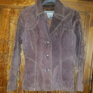 Wilsons Suede leather jacket in size small